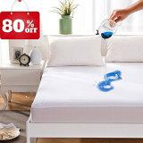 Koningin Size Luxury Cotton 100% Waterdichte Hypoallergenic Terry Cover Mattress Protector