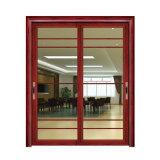 Простая конструкция китайском стиле с заводская цена сдвижной двери