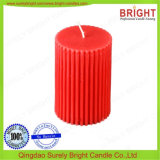 Roter Pfosten-Kerze-Großverkauf für Kirche-Gebet