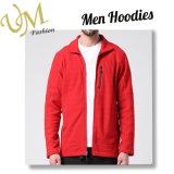 Изготовленный на заказ красная куртка Softshell полиэфира без клобука