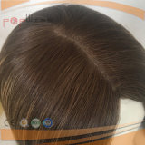 Peruca superior de seda judaica Charming de Sheitel do cabelo humano