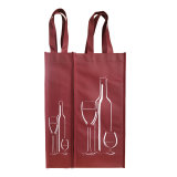 品質の製造者によってカスタマイズされるロゴの昇進の卸し売りびんのワインは袋を運ぶ