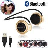 Drahtlose kopfhörer-Sport-Musik der Bluetooth Kopfhörer-Mini503 FM RadiostereoEarpics Mikro-Ableiter-Einbauschlitz-Kopfhörer Mini503
