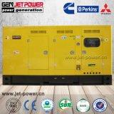 100Ква 80квт с водяным охлаждением звукоизолирующие дизельного генератора