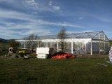 玄関ひさしの党のための明確な屋根のおおい展覧会のテント