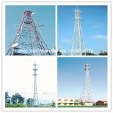 Torre eléctrica galvanizada alta calidad de la distribución