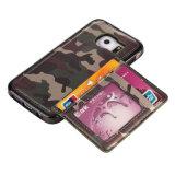 Samsung S6/S7/S8를 위한 새로운 위장 카드 홀더 부류 전화 상자