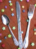 Acero inoxidable utensilios de mesa