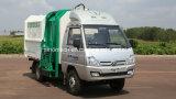 De beste Vrachtwagen van de Vuilnisman van het Heftoestel van 5 Kubieke Meters Hydraulische Kleine/Mini