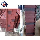 多彩な建築材料の石の上塗を施してある鉄片屋根瓦
