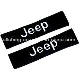 La cintura di sicurezza dell'automobile copre il poliestere di accoppiamenti dei rilievi di spalla per la jeep