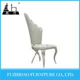 Uso comercial para as cadeiras brancas do aço inoxidável da sala de jantar