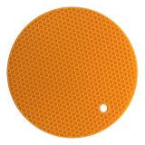 De Hittebestendige Mat van de Pannelap van het Ontwerp van de Honingraat van het Silicone van het keukengerei