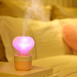 Увлажнитель воздуха тумана домочадца ультразвуковой холодный с 7 цветами освещает миниый увлажнитель USB