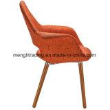 Удалите современный эргономичный пластиковый реплики ткань кресло в подлокотнике