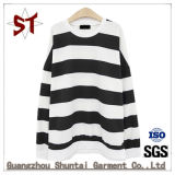 As mulheres Customed Striped T-shirt vestuário simples