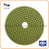 Tampon à polir 125mm Types d'être choisi d'accepter de personnaliser la couleur, de polissage pour toutes sortes de pierres