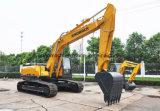 第1 Sinomachの小型掘削機25のトン1.2m3の構築機械装置の地ならし機の油圧掘削機のクローラー掘削機の熱い販売