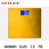 Escala personal inoxidable del acero 200kg con el LCD grande