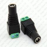 5.5mm X 2.1mm de Vrouwelijke Terminals van de Stop van de Macht van gelijkstroom voor de Schakelaar van de Camera van kabeltelevisie