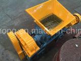 A máquina de recicl plástica dura, lâminas dobro do Shredder do eixo, o pneu de borracha recicl a máquina