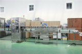 Automatische runde Flaschen-Quadrat-Flascheshrink-Hülsen-beschriftenetikettierer-Maschine