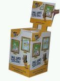 슈퍼마켓 Currogated 마분지 깔판 선반 또는 전시를 광고하는 마분지 깔판