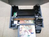 De in reliëf gemaakte Acryl het Schilderen van het Glas van het Leer Printer van de Druk van de Machine Digitale UV