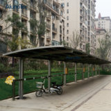 Durable UV Protect Double Shading Awing Carport