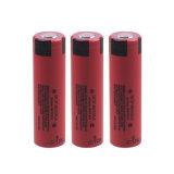 batteria dello ione 18650 del litio delle batterie della ricarica di 3.7V 3500mAh per Panasonic