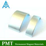 N38h R48 Lichtbogen Dauermagnet mit Neodym-magnetischem Material