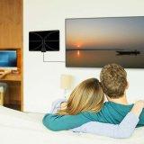 Design ultrafino, flexível preto/branco da antena interior até 50 km