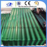 Prepainted亜鉛は屋根ふきの薄い鉄板の電流を通された屋根瓦シートを波形を付けた