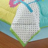 Ebay/insieme 100% del Comforter dei capretti del poliestere colore verde del Amazon con l'insieme dell'assestamento del giocattolo
