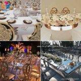 Présidence empilée de mariage d'or de Rose d'acier inoxydable à vendre