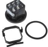 手段のフォークリフトクラブ車をきれいにするATV UTVのトラクターのゴルフカートのためのLCD電池の表示器Bi011A 12V/24V/36V/48V