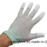 ESD de het Veilige Nylon en Koolstof breien Naadloze Handschoenen
