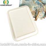 Großverkauf auf Lagere hochwertige natürliche BPA frei Eco Bambusfaser-Gelb-Platte