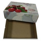 Дешевая коробка коробки плодоовощ для коробки коробки вишни с таможней напечатала