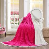 Promotion plein imprimé de flanelle de couvertures en laine polaire
