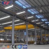 Construcción de metal industrial fábrica, taller de almacenamiento de la estructura de acero