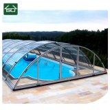 Tampas de alumínio da piscina do espaço automático, luxuoso e grande