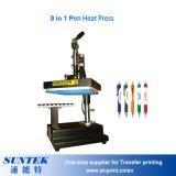 Appuyez sur le transfert de chaleur de l'impression par sublimation de la machine de plumes