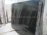 Opgepoetst/Geslepen/de Gevlamde Plak van het Graniet van de Zwarte/van Mongolië van China Absolute Zwarte voor Countertops/Bevloering/Tegels/Worktop/Lijst
