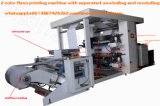 2 couleurs Machine Rpitning Flexo, 4 couleurs Impression Flexo Machine, machine d'impression flexo 6 couleurs