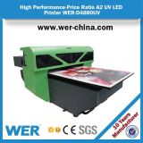 Alta qualidade de Wer-D4880UV alguma impressora UV do uso da carcaça