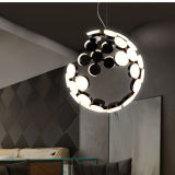Lámpara pendiente de la lámpara creativa moderna del LED para el hogar de interior