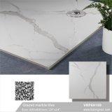 Mattonelle di pavimento Polished di marmo lustrate bianche della porcellana della Cina Foshan Carrara (VRP6H039M, 600X600mm)