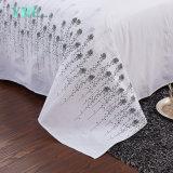 3 PCSの贅沢な綿のホテルによって印刷されるベッド・カバー