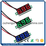 "V20d 0.36 "" 2개의 철사를 가진 LED DC 2.5-30.0V 디지털 표시 장치 전압계"